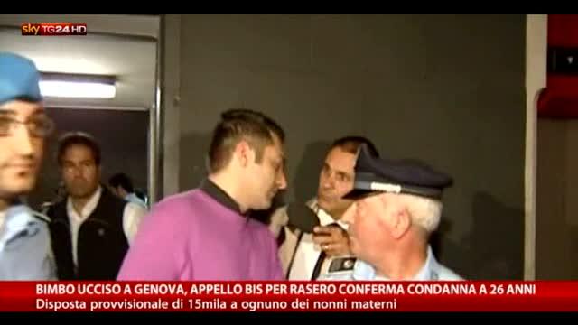 Bimbo ucciso a Genova, 26 anni a Rasero