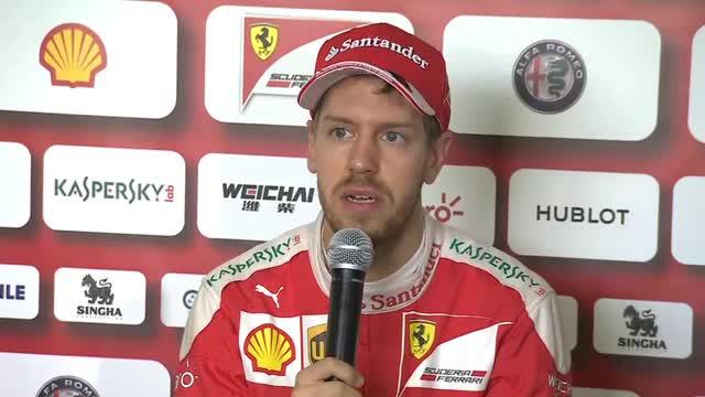 """Vettel: """"Problemi Mercedes? Sembrano molto forti"""""""
