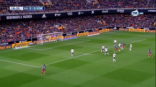 Valencia-Atletico Madrid 1-3