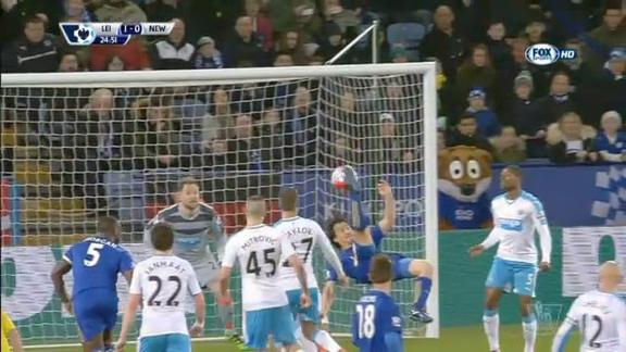 Leicester-Newcastle 1-0
