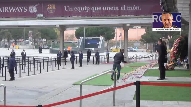 Cruijff, memoriale al Camp Nou