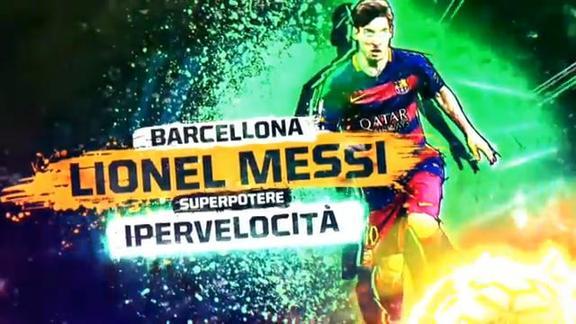 Gli eroi del Clasico: i superpoteri di Leo Messi
