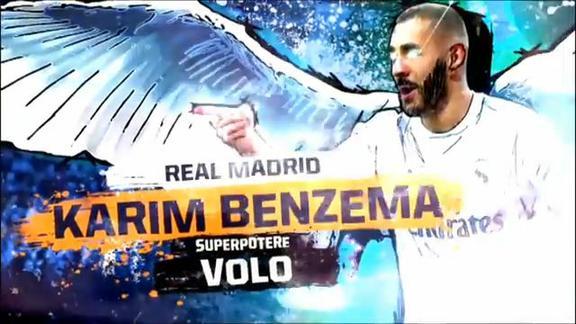 Gli eroi del Clasico: i superpoteri di Karim Benzema