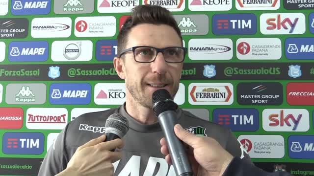 "Di Francesco: ""Il Carpi? Sarà una partita maschia"""