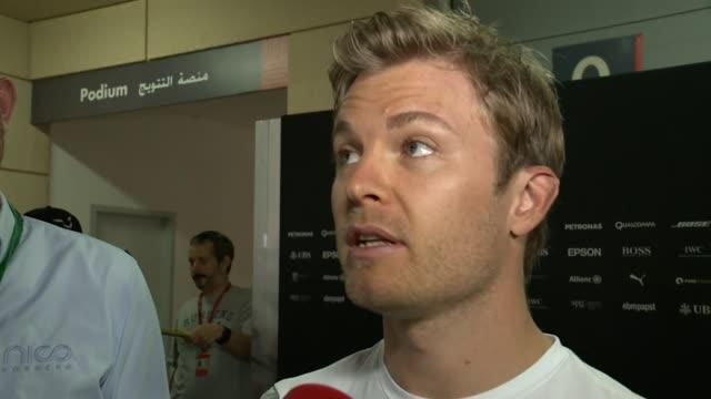 """Rosberg in Bahrain: """"E' stato un ottimo inizio"""""""