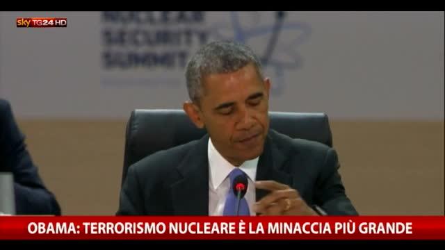 Obama: terrorismo nucleare è la minaccia più grande