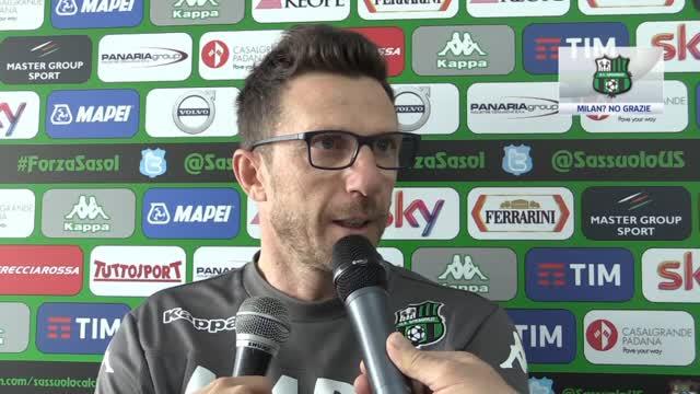 """Di Francesco: """"Milan? Vado dove non c'è confusione"""""""