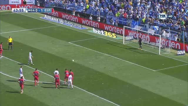 Malaga-Espanyol 1-1