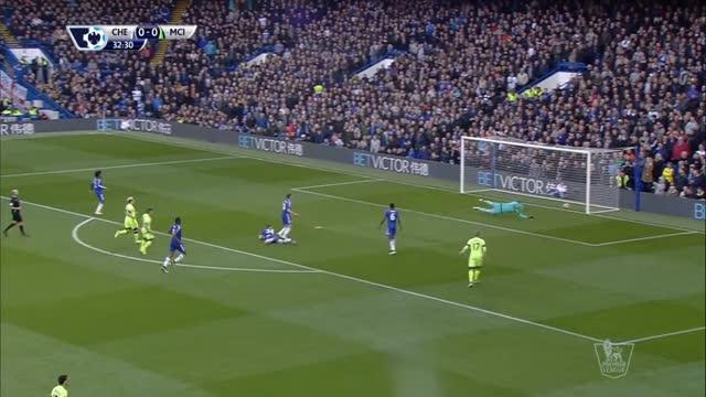Chelsea-Manchester City 0-3