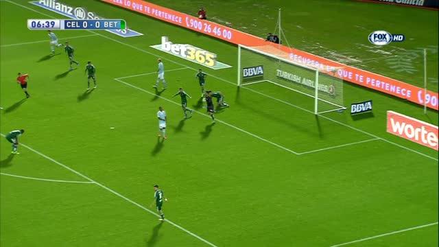 Celta Vigo-Betis Siviglia 1-1