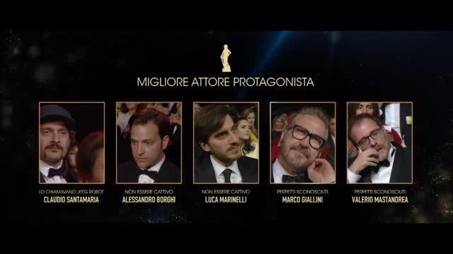 David di Donatello 2016, il Miglior attore