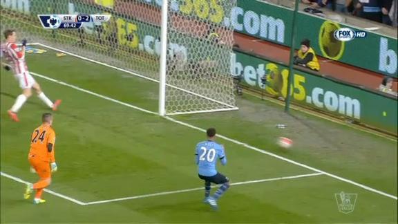 Tottenham, Alli che errore: così divora il 3-0