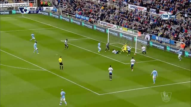 Newcastle United-Manchester City 1-1