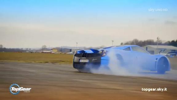 Top Gear Italia - Puntata #6: niente 4X4 per la Huayra