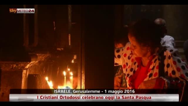 Pasqua ortodossa a Gerusalemme