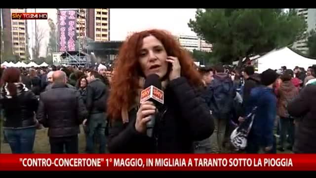 Contro-Concertone 1° maggio, in migliaia a Taranto