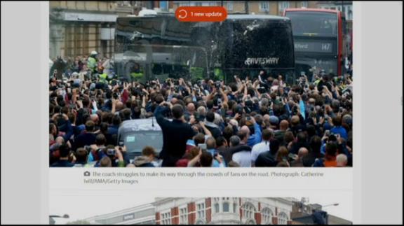 Tensione a Londra, scontri nel pre di West Ham-United
