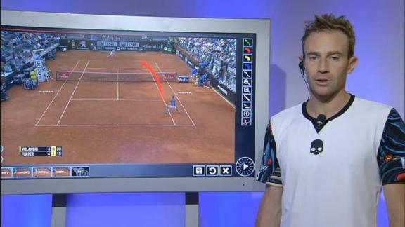 Volandri-Ferrer, l'azzurro analizza il suo match