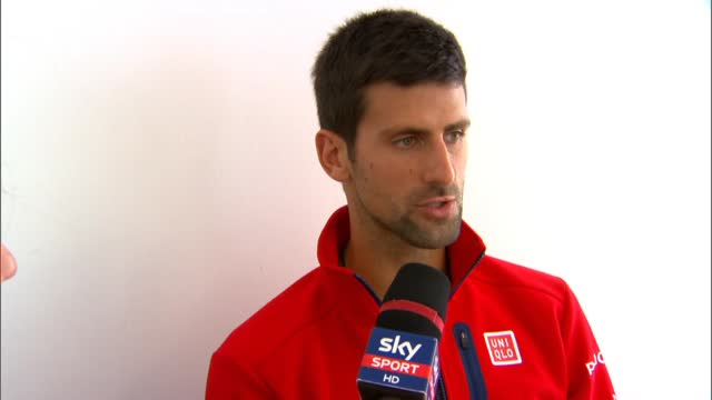 """Djokovic: """"Tornare a Roma è sempre bello"""""""