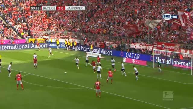 Bayern-Hannover 3-1