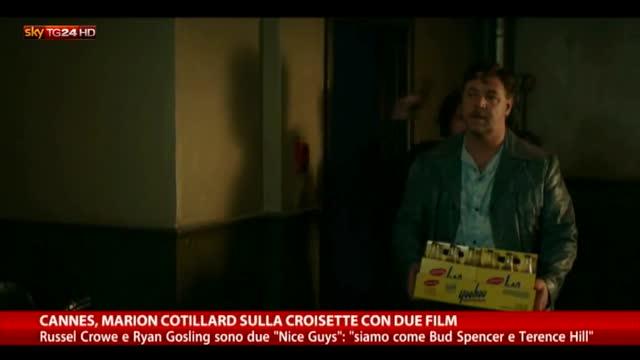 "Cannes, applausi per Cotillard. E arrivano i ""Nice Guys"""