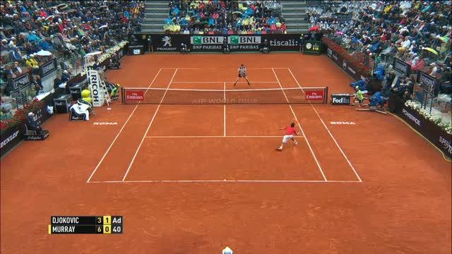 Murray re di Roma per la prima volta: Djokovic ko in finale