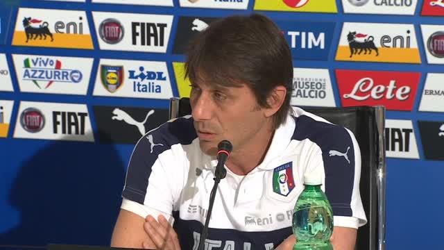 """Conte: """"Test scelti in vista di gare Europei"""""""