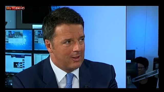 Referendum, Renzi: alternativa è tra bipolarismo e inciuci