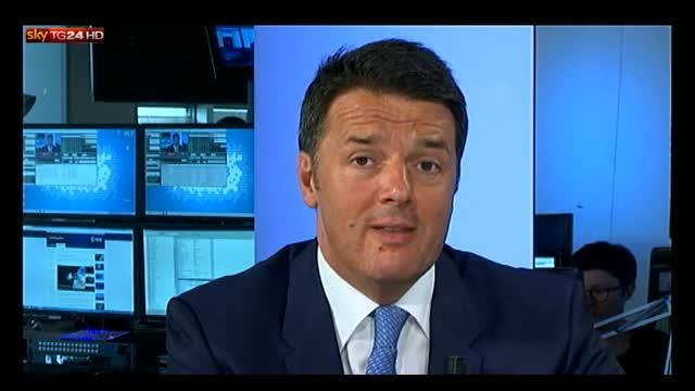 Pd, Renzi: minoranza alimenta polemiche, è incomprensibile