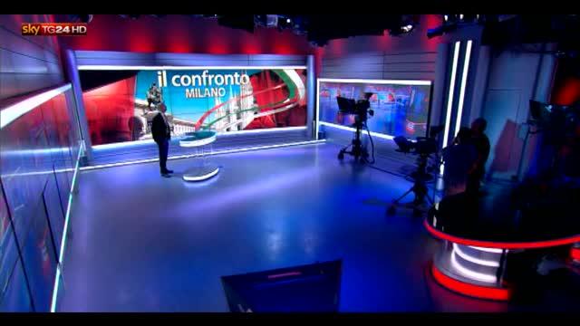 Elezioni comunali Milano, il confronto su Sky TG24