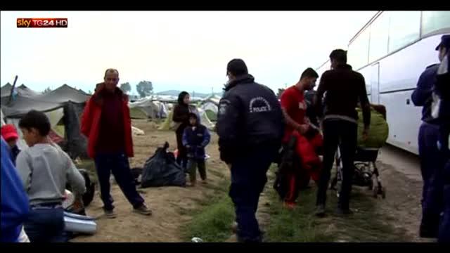 A Idomeni lo sgombero dei profughi, in mare 3mila soccorsi