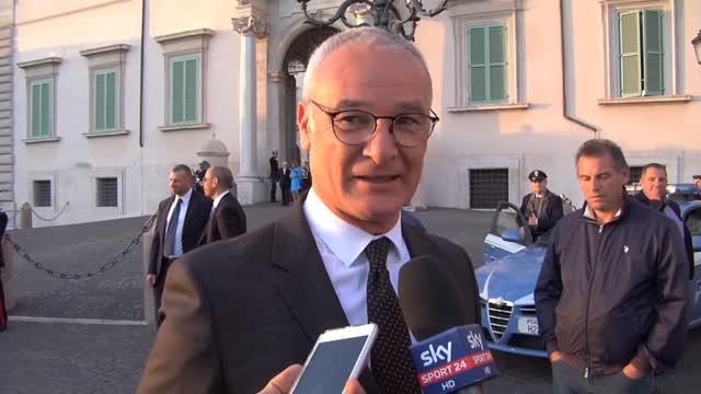 """Ranieri: """"La Nazionale? Si soffrirà ma il gruppo c'è"""""""
