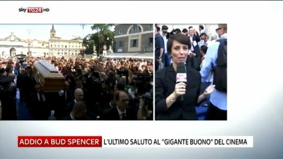 L'ultimo saluto a Bud Spencer