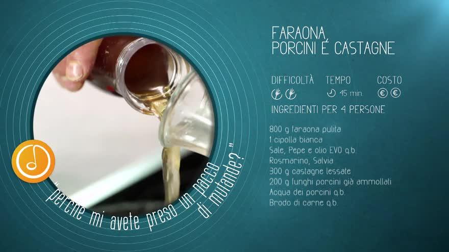 Alessandro Borghese Kitchen Sound-Faraona porcini e castagne