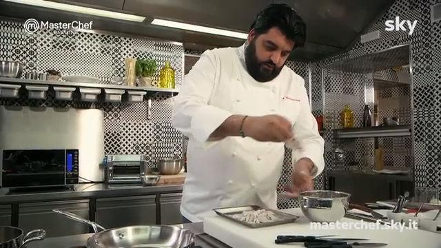 Risotto carnaroli con le rane dello Chef Cannavacciuolo: la video ricetta