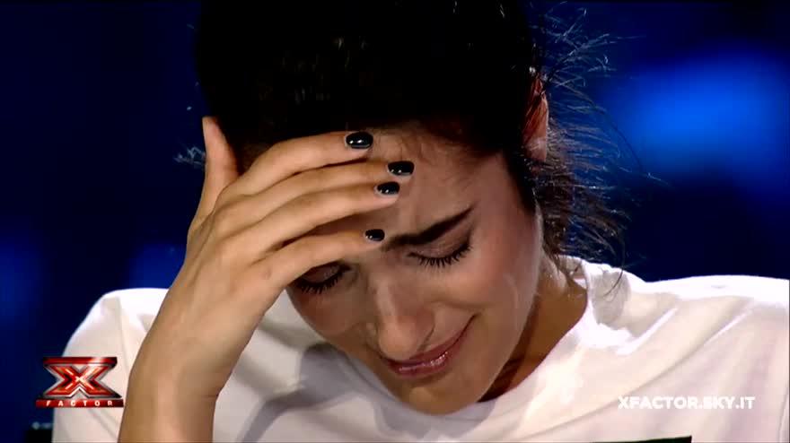 Andrea Uboldi commuove i giudici di X Factor