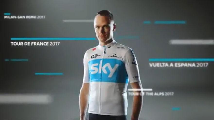 Team Sky 2018, nuovo kit