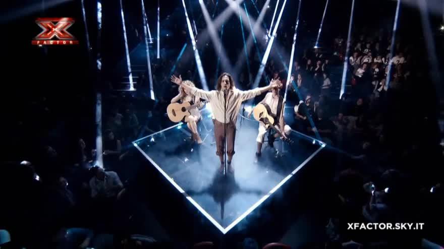 La storia dei Maneskin a X Factor 2017