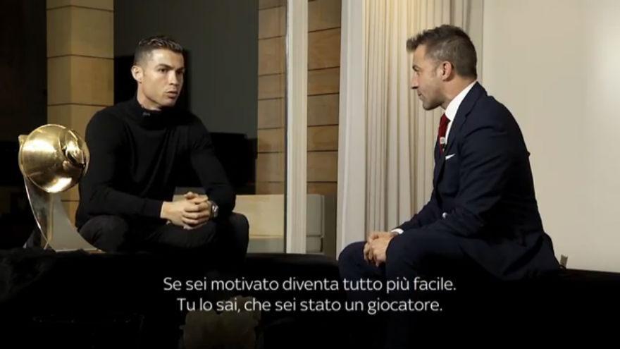 Ronaldo, l'intervista con Del Piero