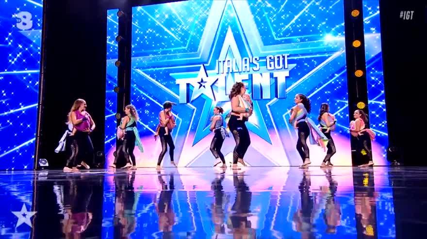 Italia's Got Talent 2019: mamme danzano con i loro neonati
