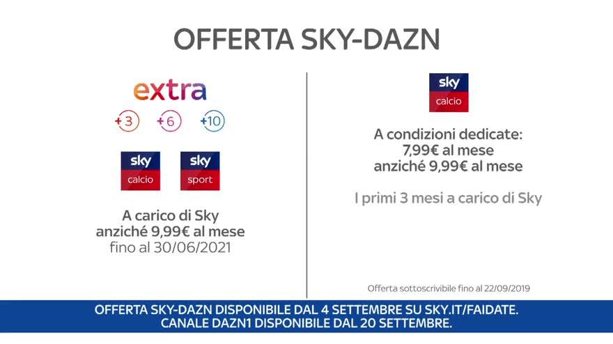 Calendario Partite Sky Dazn.Dal 20 Settembre Dazn1 Sul Canale 209 Di Sky La Guida