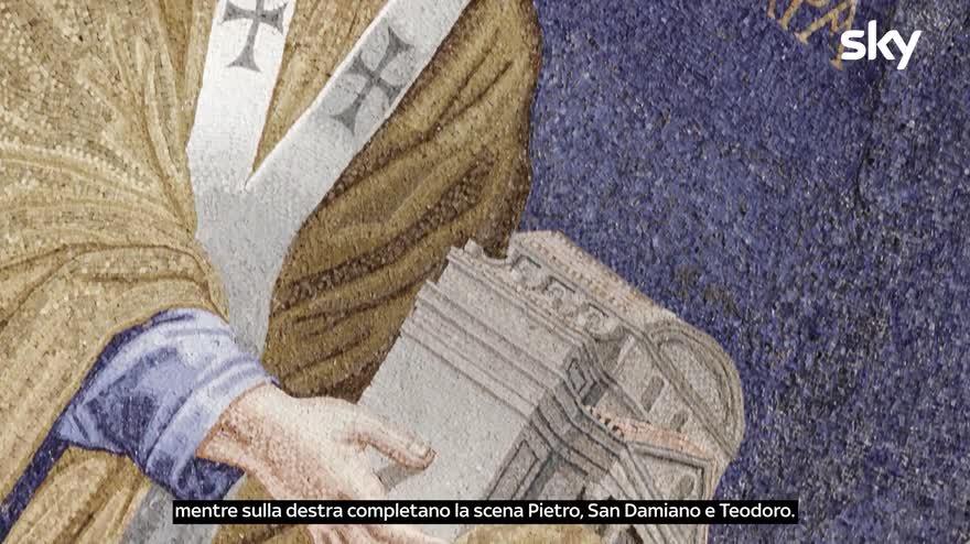 Sette Meraviglie Roma:Dentro la basilica di Cosma e Damiano