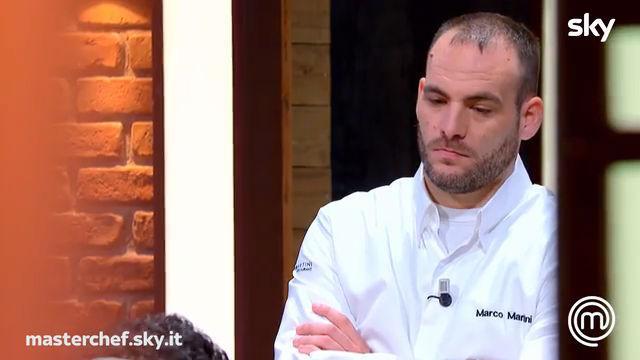 Lo chef Marco Martini presenta i suoi piatti