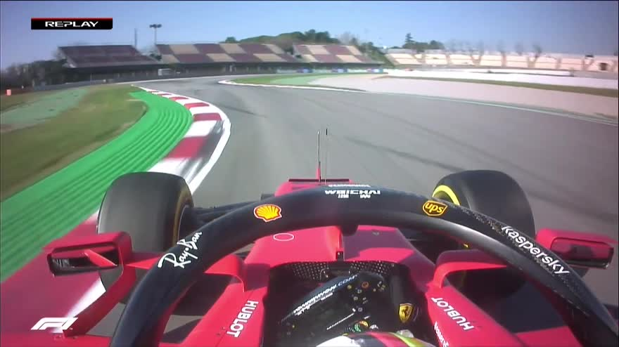 Test F1, tutti i video