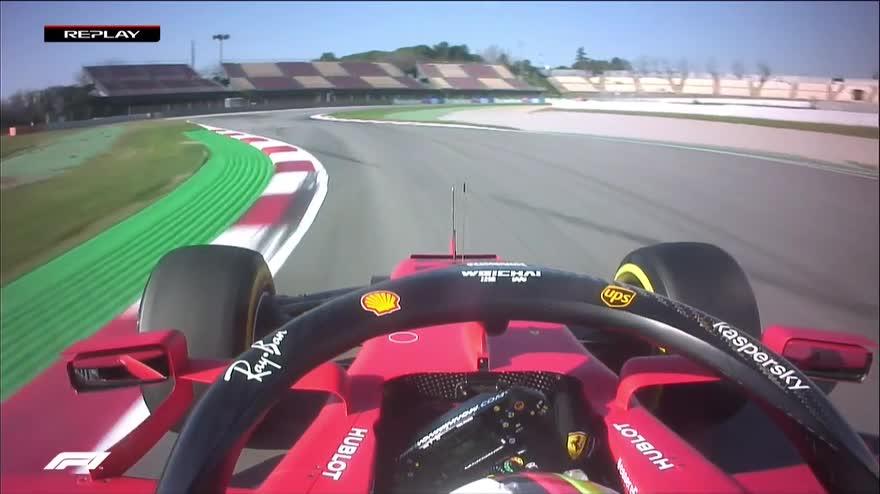 Test F1, tutti i video