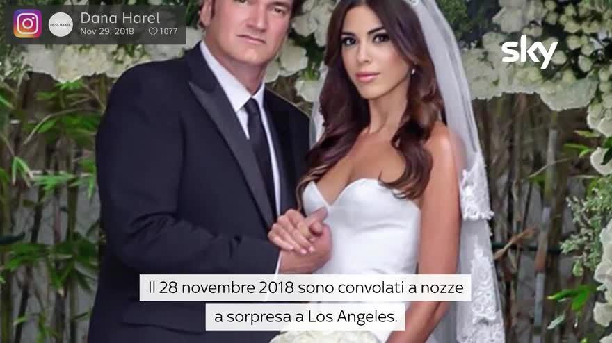 VIDEO Quentin Tarantino e Daniella Pick, la storia d'amore