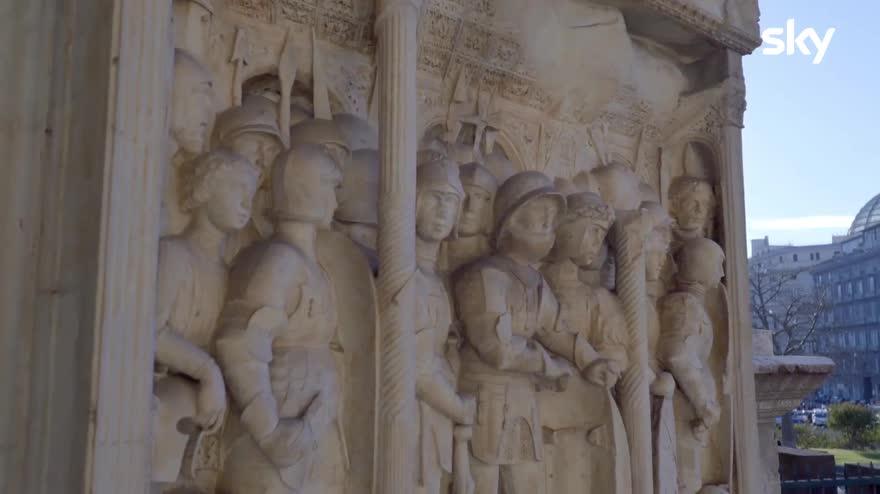 Sette Meraviglie, Napoli - L'Arco di Trionfo a Castel Nuovo