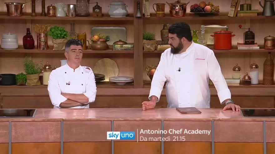 Antonino Chef Academy Nuova Stagione