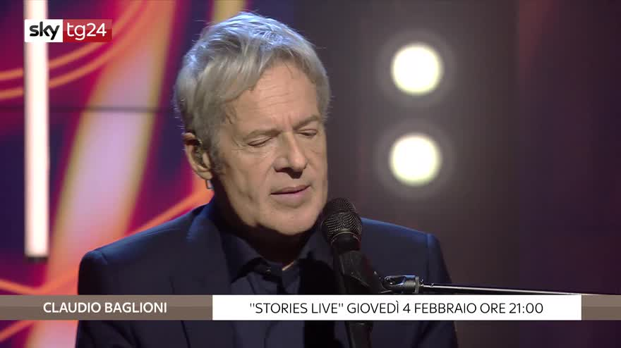 "Stories Live: Claudio Baglioni canta ""Noi no"". VIDEO"