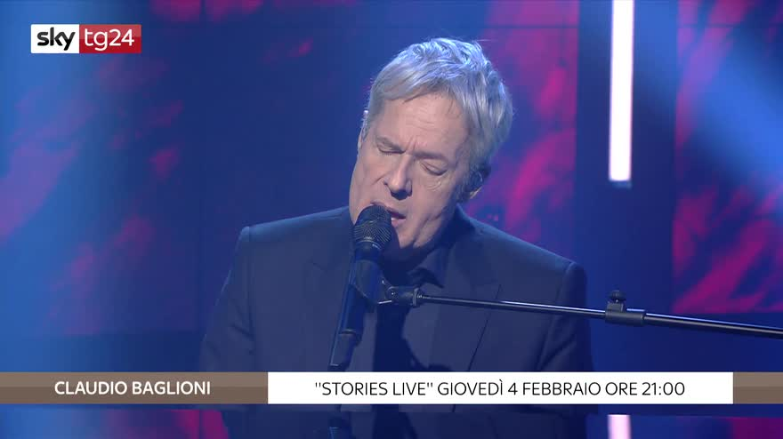 "Stories Live: Claudio Baglioni in ""Mille giorni di te e di me"". VIDEO"